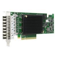 Broadcom netwerkkaart: PCIe 3.0 x8 4 Ports, 800Mb/s - Zwart, Groen, Grijs