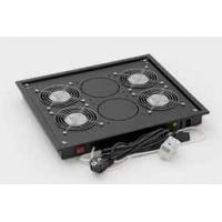 Triton Free standing cabinet fan unit, 4 fans Rack toebehoren - Grijs