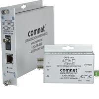 ComNet media converter: 10/100 Mbps Ethernet 1310nm - Zilver