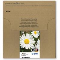Epson inktcartridge: Multipack 4-colours 18 - Zwart, Cyaan, Magenta, Geel