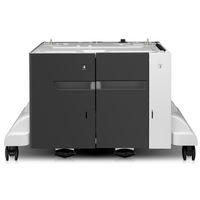 HP LaserJet 3500-sheet High-capacity Input Tray Feeder and Stand Papierlade