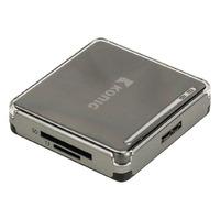 König geheugenkaartlezer: Alles-in-een geheugenkaartlezer USB 3.0 - Zwart, Zilver