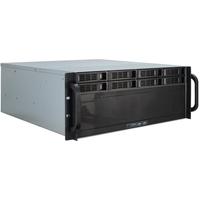 Inter-Tech behuizing: 4U-4408 - Zwart, Zilver