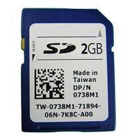 DELL flashgeheugen: 2GB SD - Blauw, Wit