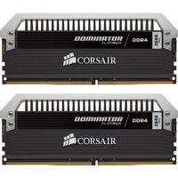 Corsair RAM-geheugen: Dominator Platinum 32GB DDR4-3000 - Zwart, Zilver