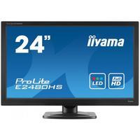 Iiyama monitor: ProLite 24 inch ProLite LED - zwart