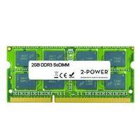 2-Power RAM-geheugen: 2GB DDR3 1333MHz SR SoDIMM - Groen