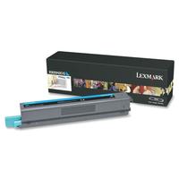 Lexmark toner: X925 7,5K cyaan tonercartridge