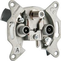 Schwaiger wandcontactdoos: RDS660 531 - Metallic