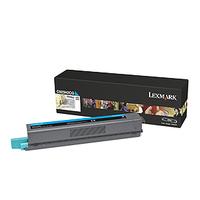 Lexmark toner: C925 7,5K cyaan tonercartridge