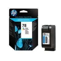 HP inktcartridge: 78 originele drie-kleuren inktcartridge - Cyaan, Magenta, Geel