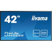 Iiyama public display: ProLite LH4265S - Zwart