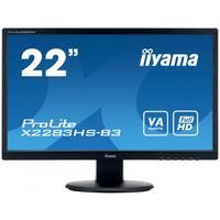 """Iiyama monitor: ProLite X2283HS-B3 21,5"""" Full HD VA - Desktop - Zwart"""