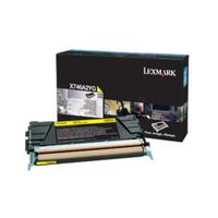 Lexmark toner: X746A3 Y - Geel