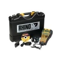 DYMO labelprinter: RHINO 6000 Hard Case Kit - Zwart, Geel