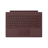 Microsoft mobile device keyboard: Surface Pro Signature Type Cover - Bordeaux rood, QWERTY