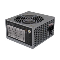 LC-Power power supply unit: LC600-12 V2.31, 450W max., Active PFC, OVP/OPP/SCP/UVP - Grijs