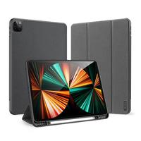 Dux Ducis Domo Bookcase iPad Pro 12.9 (2021) - Zwart - Zwart / Black Mobile phone case