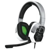 Afterglow koptelefoon: - LVL 3 Wired Stereo Headset (Wit Camo)  Xbox One