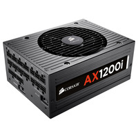 Corsair power supply unit: AX1200i - Zwart