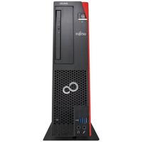 Fujitsu CELSIUS J580 SFF i7 16GB RAM 512GB SSD Pc - Zwart, Rood