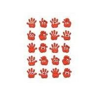 HERMA MAGIC stickers hands neon 1 sheet (6454)