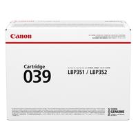Canon toner: 039 - Zwart