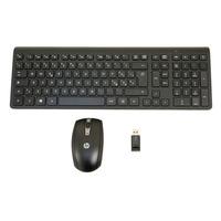 HP Slim WRLS KBD-MUS Kit Win8 Toetsenbord - Zwart