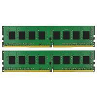 Kingston Technology RAM-geheugen: ValueRAM 16GB DDR4 2133MHz Module - Zwart, Groen
