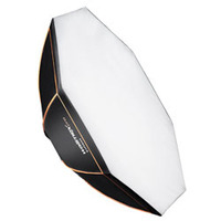 Walimex camera kit: pro Octagon Softbox Orange Line 90 - Zwart, Wit