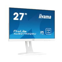 "Iiyama monitor: ProLite XUB2792QSU-W1 27"" WQHD IPS - Business - Wit"