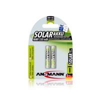 1x2 Ansmann maxE NiMH Accu Micro AAA 550 mAh SOLAR