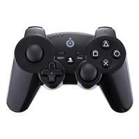 Bigben Interactive game controller: Officieel gelicenseerde draadloze PS3 controller - zwart