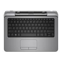 HP mobile device keyboard: Pro x2 612 - Zwart, Grijs