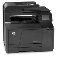 HP multifunctional: LaserJet 200 M276n - Zwart, Cyaan, Magenta, Geel