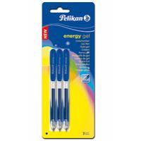 Pelikan gelpen: Energy Gel pen Blister - Blauw