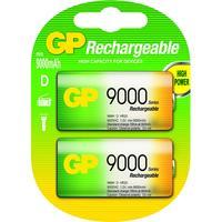 GP Batteries batterij: NiMH rechargeable batteries D - Multi kleuren