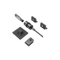 DELL kabelslot: Kensington Desktop en randapparatuur vergrendeling Kit - Beveiligingskit voor system - Zilver