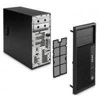 HP Computerkast onderdeel: Z240 towerbezel met stoffilter - Zwart