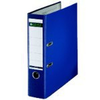 Leitz map: Plastic Lever Arch File A4 80mm 180° Blue - Blauw