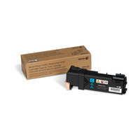 Xerox toner: Phaser 6500/WorkCentre 6505, Grote capaciteit tonercartridge, cyaan (2.500 pagina's)