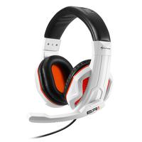 Sharkoon headset: RUSH ER1 - Zwart, Wit