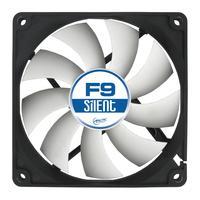 ARCTIC Hardware koeling: F9 Silent 3-Pin fan with standard case - Zwart, Wit