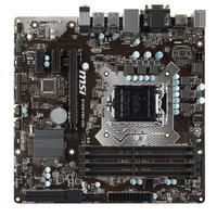 MSI moederbord: Intel Socket 1151, Intel B150, 4x DIMM Dual DDR4, 6x SATA 6Gb/s, HDMI/DVI-D/VGA, USB 3.1/USB 2.0, .....