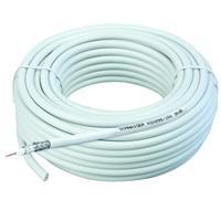 Schwaiger coax kabel: KOX996100002 - Wit