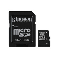 Kingston technology flashgeheugen: MicroSD High Capacity - Zwart