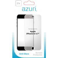 Azuri screen protector: AZDUOSPAGAPPIPH6 schermbeschermer - Transparant