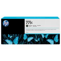 HP inktcartridge: 771C matzwarte DesignJet inktcartridge, 775 ml