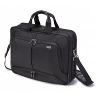 Dicota laptoptas: TopTraveller PRO 12-14.1, Nylon - Zwart