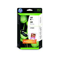 HP 301 Ink Cartridge Combo-pack